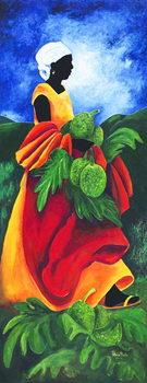 Season Breadfruit, 2011, Canvas Print