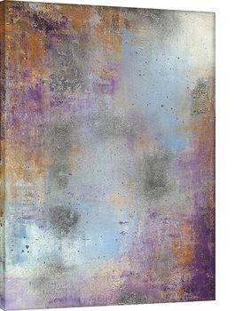 Soozy Barker - Waterlily Silver Canvas Print