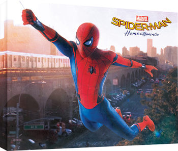 Spider-Man Homecoming - Swing Canvas Print