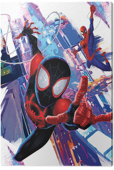 Spider-Man: Into The Spider-Verse - Duo Canvas Print