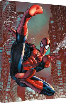 Spider-Man - Web Sling Canvas Print