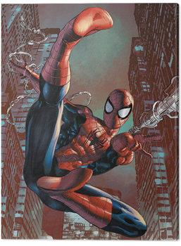 Spiderman - Web-Sling Canvas Print
