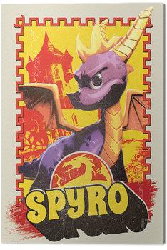 Spyro - Vintage Canvas Print