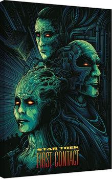 Star Trek: First Contact - 50th Anniversary Canvas Print