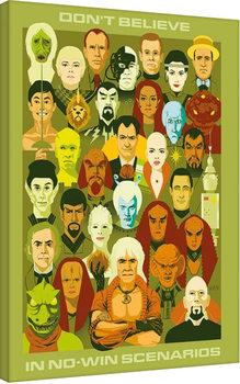 Star Trek: No Win Scenarios - 50th Anniversary Canvas Print