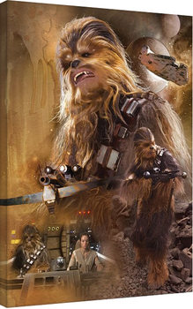 Star Wars Episode VII: The Force Awakens - Chewbacca Art Canvas Print