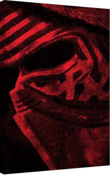 Star Wars Episode VII: The Force Awakens - Millennium Falcon Pencil Art Canvas Print