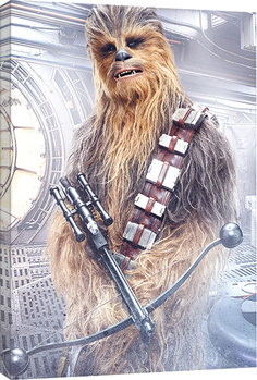 Star Wars The Last Jedi - Chewbacca Bowcaster Canvas Print
