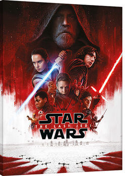 Star Wars The Last Jedi - One Sheet Canvas Print
