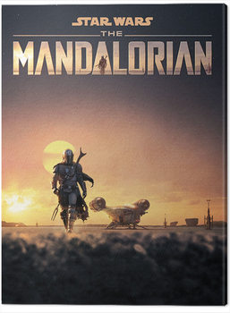 Star Wars: The Mandalorian - Dusk Canvas Print