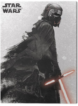 Star Wars: The Rise of Skywalker - Kylo Ren And Vader Canvas Print