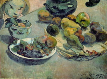 Still Life with Fruit, 1888 Canvas Print