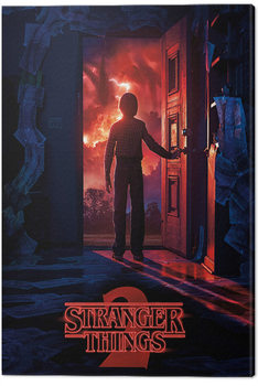 Stranger Things - Doorway Canvas Print