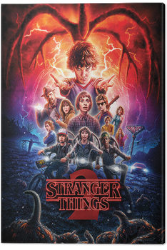 Stranger Things - One Sheet Series 2 Canvas Print