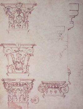 Studies for a Capital Canvas Print