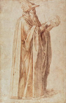 Study of a Man Canvas Print
