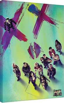 Suicide Squad - Face Canvas Print