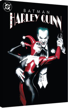 Suicide Squad - Joker & Harley Quinn Dance Canvas Print