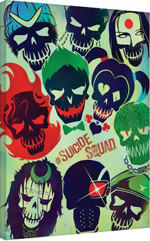 Suicide Squad - Skulls Canvas Print