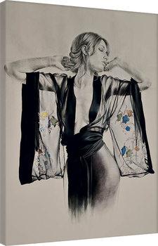 T. Good - Kimono Canvas Print