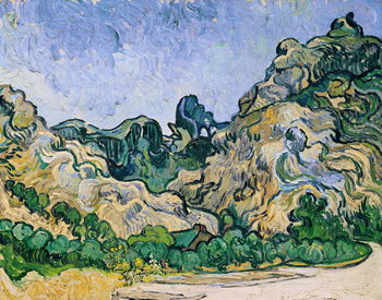 The Alpilles, 1889 Canvas Print