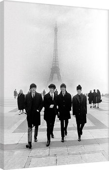 The Beatles - Paris Canvas Print