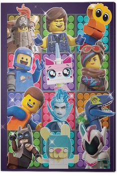 The Lego Movie 2 - Some Assembly Required Canvas Print