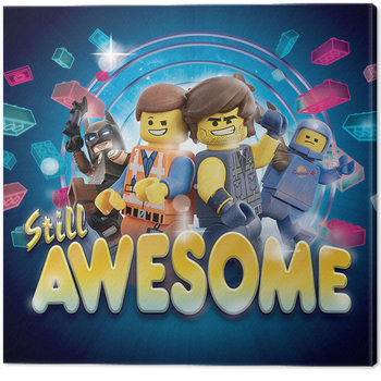 The Lego Movie 2 - Still Awesome Canvas Print