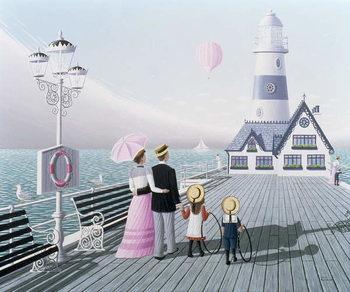 The Lighthouse, 1996 Canvas Print