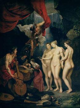 The Medici Cycle: Education of Marie de Medici (1573-1642) 1621-25 Canvas Print