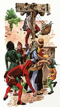 The Pillory Canvas Print