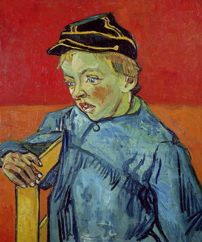 The Schoolboy, 1889-90 Canvas Print