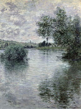 The Seine at Vetheuil, 1879 Canvas Print