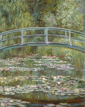 The Water-Lily Pond, 1899 Canvas Print
