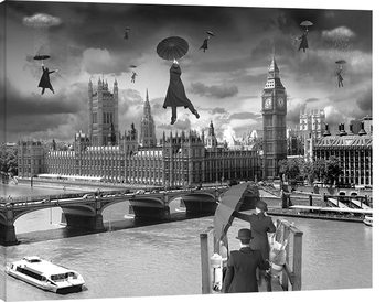 Thomas Barbey - Blown Away Canvas Print