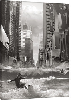 Thomas Barbey - Swell Time In Town Canvas Print