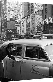 Time Life - Audrey Hepburn - Taxi Canvas Print