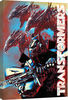 Transformers: The Last Knight - Dragons Canvas Print
