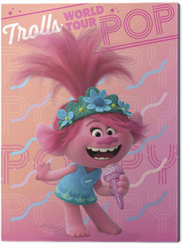 Trolls World Tour - Poppy Canvas Print
