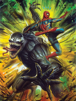 Venom - Explosive Canvas Print