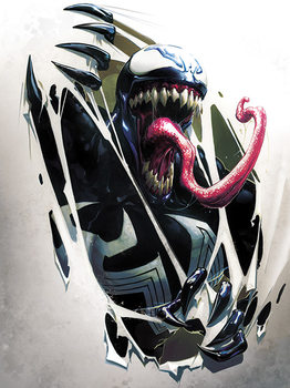 Venom - Tearing Through Canvas Print