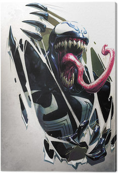 Venom - Tearing Through Canvas Print