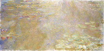 Waterlily Pond, c.1917-1919 Canvas Print