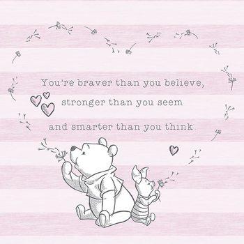 Winnie The Pooh - Believe Canvas Print