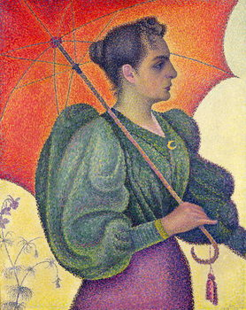 Woman with a Parasol, 1893 Canvas Print