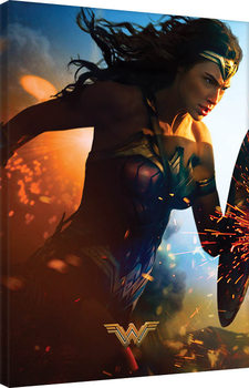 Wonder Woman - Courage Canvas Print