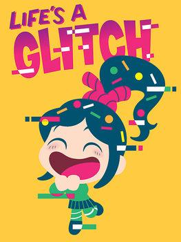 Wreck-It Ralph - Life's a Glitch Canvas Print