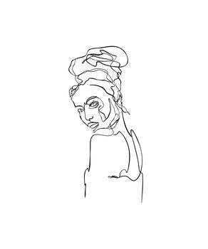 Canvas-taulu Abigail
