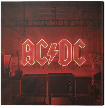 Canvas-taulu AC/DC - PWR/UP