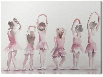 Aimee Del Valle - Les Cinquiemes Canvas-taulu